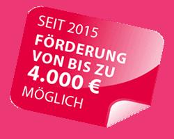 Logo - Zuschuß 4.000 Euro möglich!