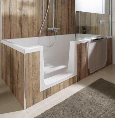 Neu! Duschbadewanne mit Tür – sicher baden und duschen ... | {Duschbadewanne mit tür 53}